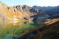 Unnamed lake beneath Hurdygurdy Peak. Chugach State Park, Chugach Mountains, Alaska.jpg