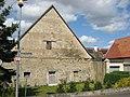 Untere Dorfstraße 28, Kist, Scheune mit doppeltem Fachwerkobergeschoss, wohl 18. Jahrhundert 2.jpg