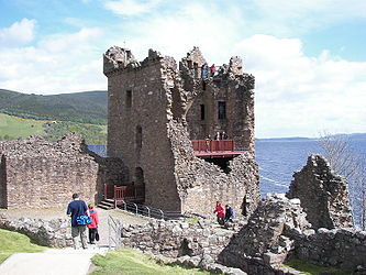 Urquhart Castle Tower House.jpg