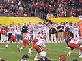 Utes on offense at 2009 Poinsettia Bowl 21.JPG