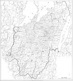 karta över skaraborgs län Lista över jordebokssocknar och stadsregisterområden i  karta över skaraborgs län