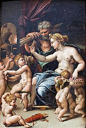 Giulio Romano: Venus and Vulcan