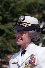 VAdm Patricia Tracey retiring