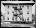 VIEW EAST - 83-85 Sigourney Street (Commercial Buildings), Hartford, Hartford County, CT HABS CONN,2-HARF,10-3.tif
