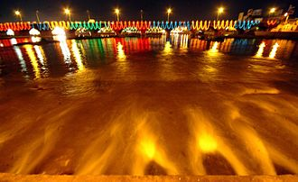 Vaigai River - Vaigai River Illumination