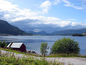 Halsa - View of the Valsøyfjorden