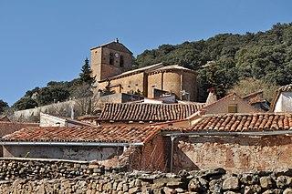 Valdegeña Place in Castile and León, Spain