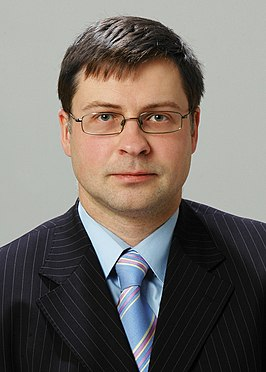 Dombrovskis in 2009