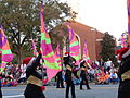 Valdosta High School Marchin' Cats at the 2015 Greater Valdosta Community Christmas Parade 8.JPG