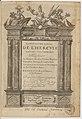 Valladier, 'Labyrinthe royal de l'Hercule gaulois triomphant' 1601 – Gallica bpt6k15121367 f007.jpg