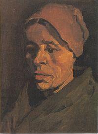 Van Gogh - Kopf einer Bäuerin mit bräunlicher Haube.jpeg