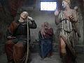 Varallo, Sacra monte, Cappella 9-L'Angelo Avvisa San Giuseppe di Fuggire in Egitto 01.JPG