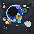 Vassily Kandinsky, 1926 - Several Circles, Gugg 0910 25.jpg