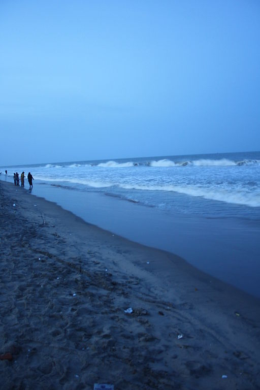 This is Velankanni beach.