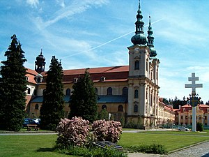 Saints Cyril and Methodius - Basilica of St.Cyril and Methodius in Moravian Velehrad, Czech Republic