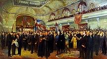 Vojvodina-Kingdom of Yugoslavia, World War II, socialist Yugoslavia-Velika-narodna-skupstina-1918