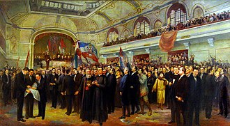 Vojvodina - Assembly of Serbs, Bunjevci, and other nations of Vojvodina in Novi Sad proclaimed the unification of Vojvodina region with the Kingdom of Serbia, 1918.