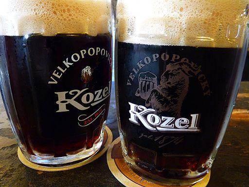 Velkepopovicky Kozel beer - cseh sörök