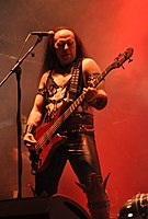 "Venom, Conrad ""Cronos"" Lant at Party.San Metal Open Air 2013 07.jpg"