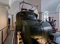 Verkehrsmuseum Dresden E-Lok E 71 30 Lokomotivwerk Hennigsdorf von 1921 VIII.jpg