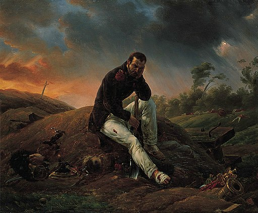 Vernet The Soldier on the Field of Battle