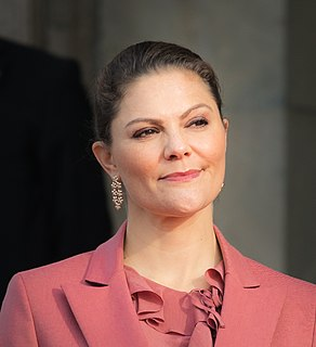 Victoria, Crown Princess of Sweden Crown Princess of Sweden