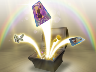 Loot box Redeemable virtual item as video game prizes