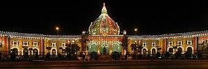 Uttar Pradesh Legislature (Vidhan Bhawan) - Image: Vidhan sabha (at night)