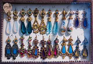 http://commons.wikimedia.org/wiki/File:Vienna_-_Vintage_earring_display_-_0218.jpg