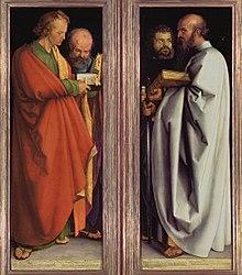 Albrecht Dürer: The Four Apostles