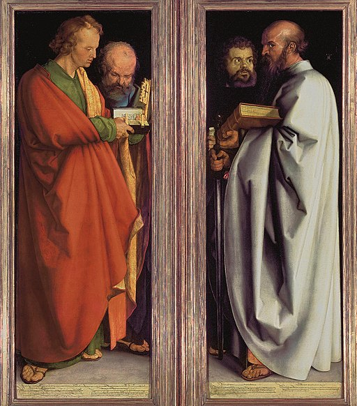 Czterej-Apostołowie-Albrecht-Duerer