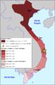 Vietnam - Expansion entre lei sègles XI e XVIII.png