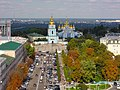 View from the St. Sophia's Cathedral - Kiev.JPG