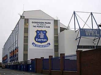 2013–14 Everton F.C. season - Goodison Park – Everton's home ground