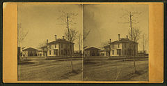 View of houses in Waterville, by Wing, S. (Simon), 1826-1906.jpg