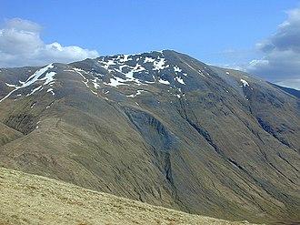 A' Chràlaig - Image: View towards A' Chralaig from An Cnapach geograph.org.uk 1005411