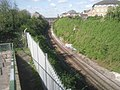 View up the railway line towards Dartford - geograph.org.uk - 2356282.jpg