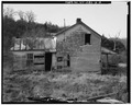 View west, house, east wall - George Judy Farm, House, County Route 9, Rough Run, Grant County, WV HABS WVA,12-RORU.V,1A-2.tif