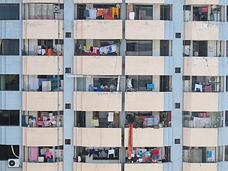 Views from a window in Bijoy Nagar, Dhaka 04.jpg
