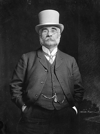 Mayor of Napier, New Zealand - Image: Vigor Brown, 1910