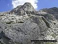 Vihren peak-2914m,под северната отвесна стена на вр.Вихрен - panoramio.jpg