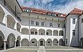 Villach Burgplatz 1 Villacher Burg Arkadenhof Sued-Ansicht 10052017 8406.jpg