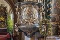Villach Maria Gail Wallfahrtskirche Zu Unserer Lieben Frau Kanzel himmelsschlüssel-Übergabe an Petrus 17062020 9180.jpg