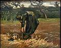 Vincent van Gogh - Boerin aardappelen opgravend.JPG