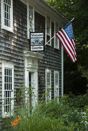 Vineyard Gazette - Gazette offices in Edgartown