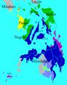 Visayan language distribution map new.png
