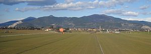 Province of Pisa - Panoramic view of Latignano