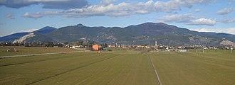 Province of Pisa - Panoramic view of Latignano