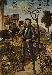 <i>Young Knight in a Landscape</i>