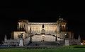 Vittoriano (Rome) at Night.jpg